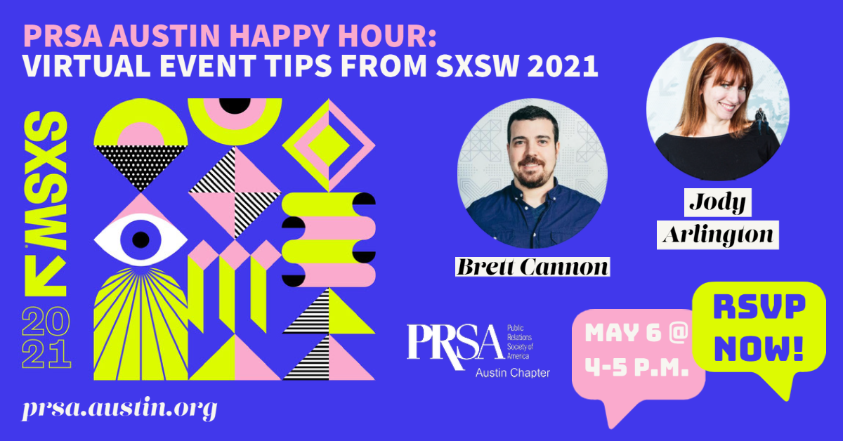 May 2021 Happy Hour Graphic